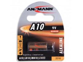 Батарея 9V 10A (d=8;L=22) Ansmann