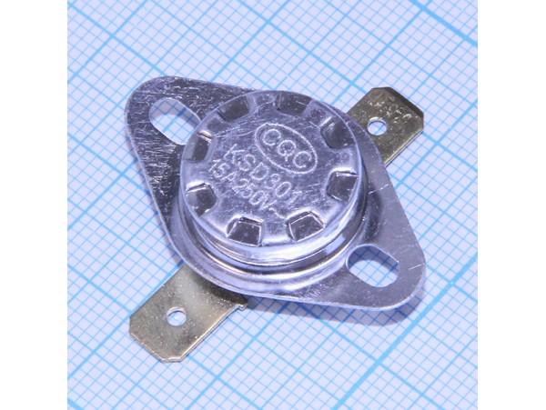 KSD-301-050С 250V15A Термостат нормально замкнутый