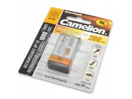 Аккумулятор 9V/250mAh Camelion (6F22) NIMH