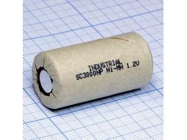 Аккумулятор 1,2V/3000 (d=23;L=43) NIMH SC