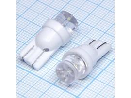 T10 1white 8mm 100° LED bulbs лампа