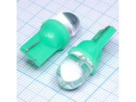T10 1green 10mm 15° LED bulbs лампа