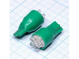 T13 6green 3mm LED bulbs лампа