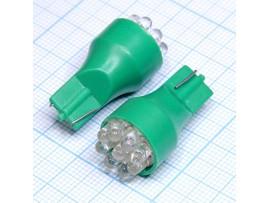 T15 9green 3mm LED bulbs лампа