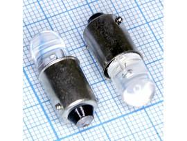 BA9S 1red 8mm 4-х 60° LED bulbs лампа