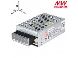 NES-15-5 Преобразователь напряжения ~220V>5V(0-3A)