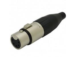 XLR-5F Гн. микр.5к. на кабель