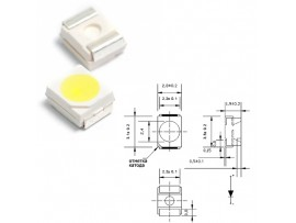 LED GNL-1210UWC бел. smd