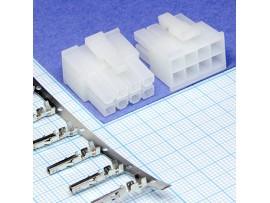 MF-8F шаг 3 розетка 8к.(2х4) на кабель