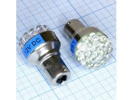 S25/1156 19blue 5mm LED bulbs лампа