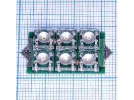 6 LED bulbs D-112R (J)  лампа
