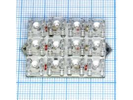 12 LED bulbs D-213R (R) лампа