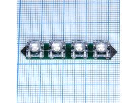 4 LED bulbs D-311G (E)  лампа