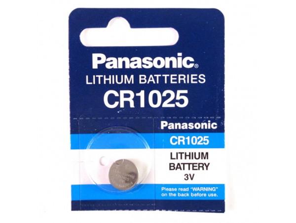 CR1025 Panasonic  н/к батарея