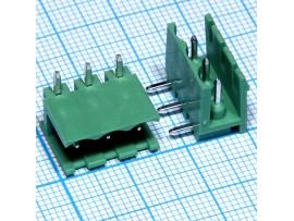 2EDGR-5.0-03P-14-0 клеммник 3к шаг 5мм на плату угловой