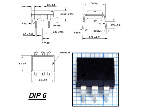CNY17-3 Оптопара