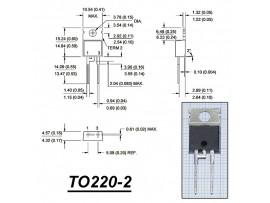STTH8R06D (600V/8A) диод быстрый