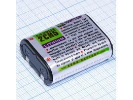 Батарея 6V 2CR5 Lithium (34*17*45) EEMB