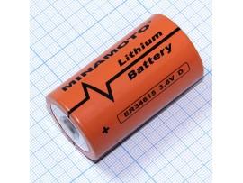 ER34615 батарея 3,6V Lithium D Minamoto