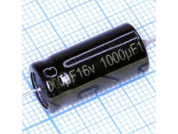 Конд.1000/16V 1021 (аксиал)