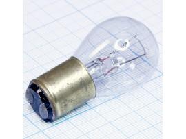 Лампа РН6-15-2 B15d/18