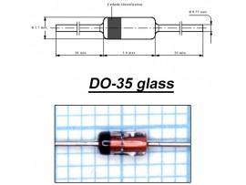 BZX79C11(Стабил.11V 0,5W) стекло