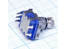 Энкодер R204 с рифленой ручкой EC1101SEB1