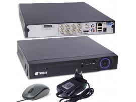 Tigris TGS-108A Гибридный видеорегистратор, 8видео/1ауд