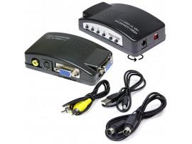 Конвертер VGA => VGA, RCA-Video, S-Video