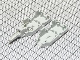 KRTP-2 разъем для шнура тестового 2 позиции