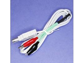 TM-4223 шнур тестовый 2, с зажимами