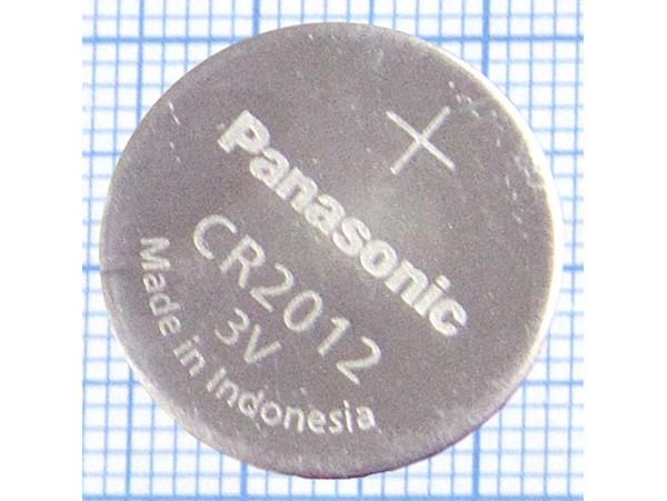 CR2012 Батарея 3V Panasonic