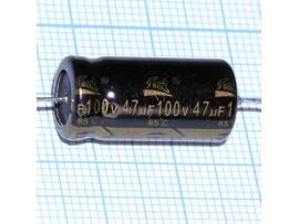 Конд.47/100V(аксиал)