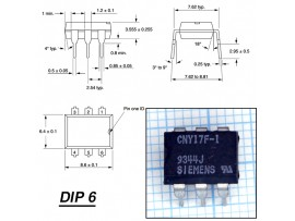 CNY17-1[CNY17F-1] Оптопара