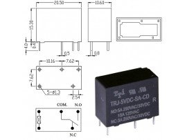 TRJ-5VDC-SA-CD-R реле