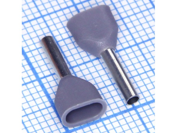 TIC2-0.75-8 наконечник 8мм обжим 0,75мм2