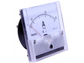 SE-80 (TD-80) 0-30A AC амперметр 50Гц 80х80мм