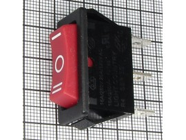 KDC3-103 250V/7,5A (оn)-off-(on) красный переключатель