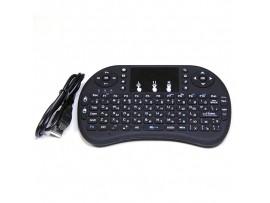 Клавиатура I8 беспроводная с тачпадом МИНИ