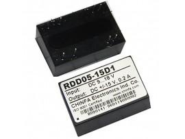 RDD05-15D1 (9V-18V>±15V/0,2A) Преобразователь напр.