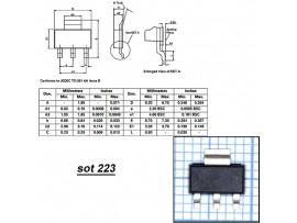 Z0103MN тиристор 600V/0,8A
