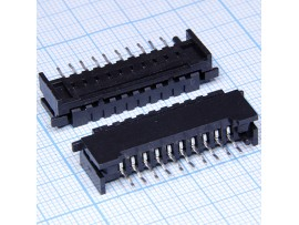 10FDZ-ST 2,54 вилка 10к.на кабель