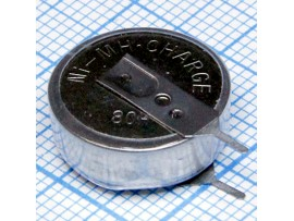 Аккумулятор 1,2V/80 Ni-Mn с выводами, верт.