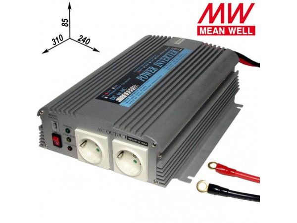 A301-1K0-F3/1000W Преобразователь напр.12V>~230V/50Гц