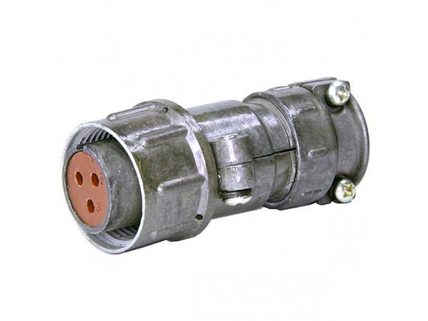 ШР20П3НШ7 розетка 3к. на кабель (аналог)
