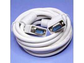 Шнур VGA = VGA(15pin) 3,0м с фильтрами