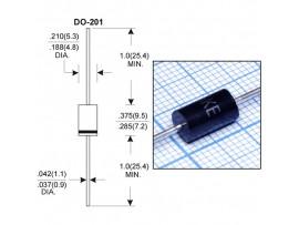 1,5KE400CA диод защитный