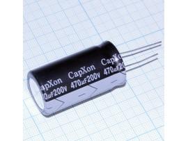 Конд.470/200V 2240 +105°C CapXon