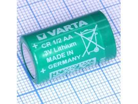 СR1/2 AA Батарея 3V  Lithium Varta