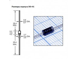 1N4003 (200V/ 1A) Диод